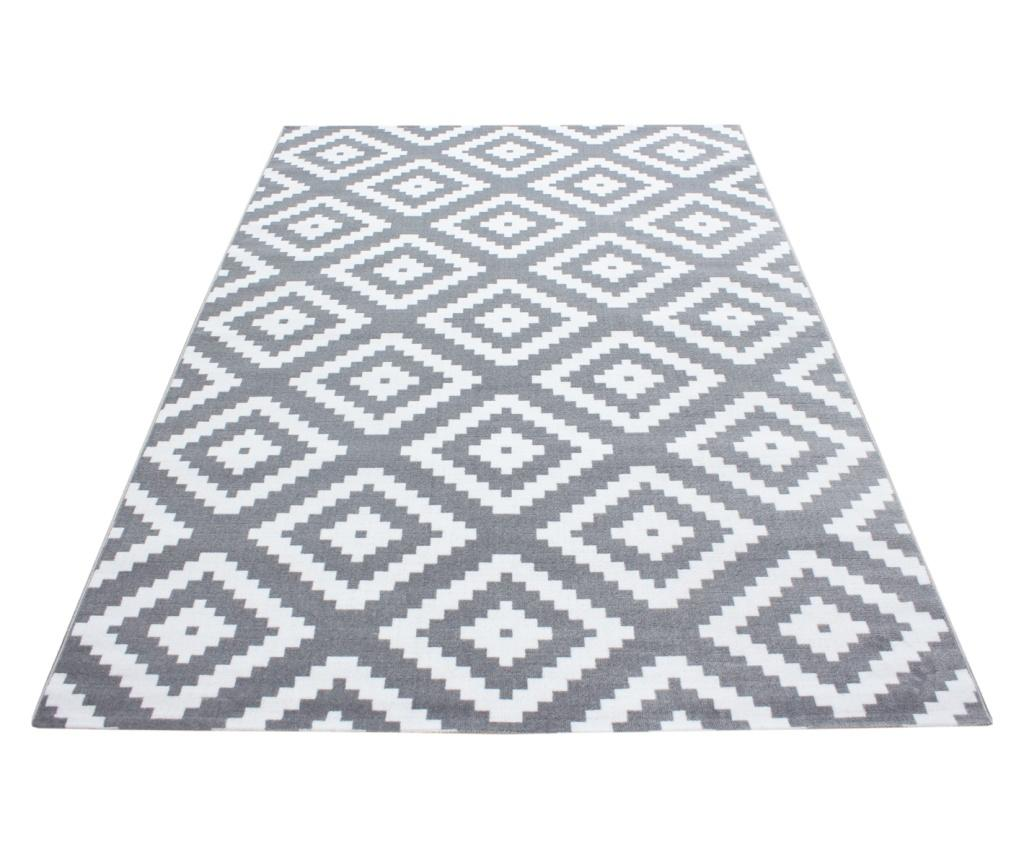 Covor Plus Grey 120x170 cm - Ayyildiz Carpet, Gri & Argintiu