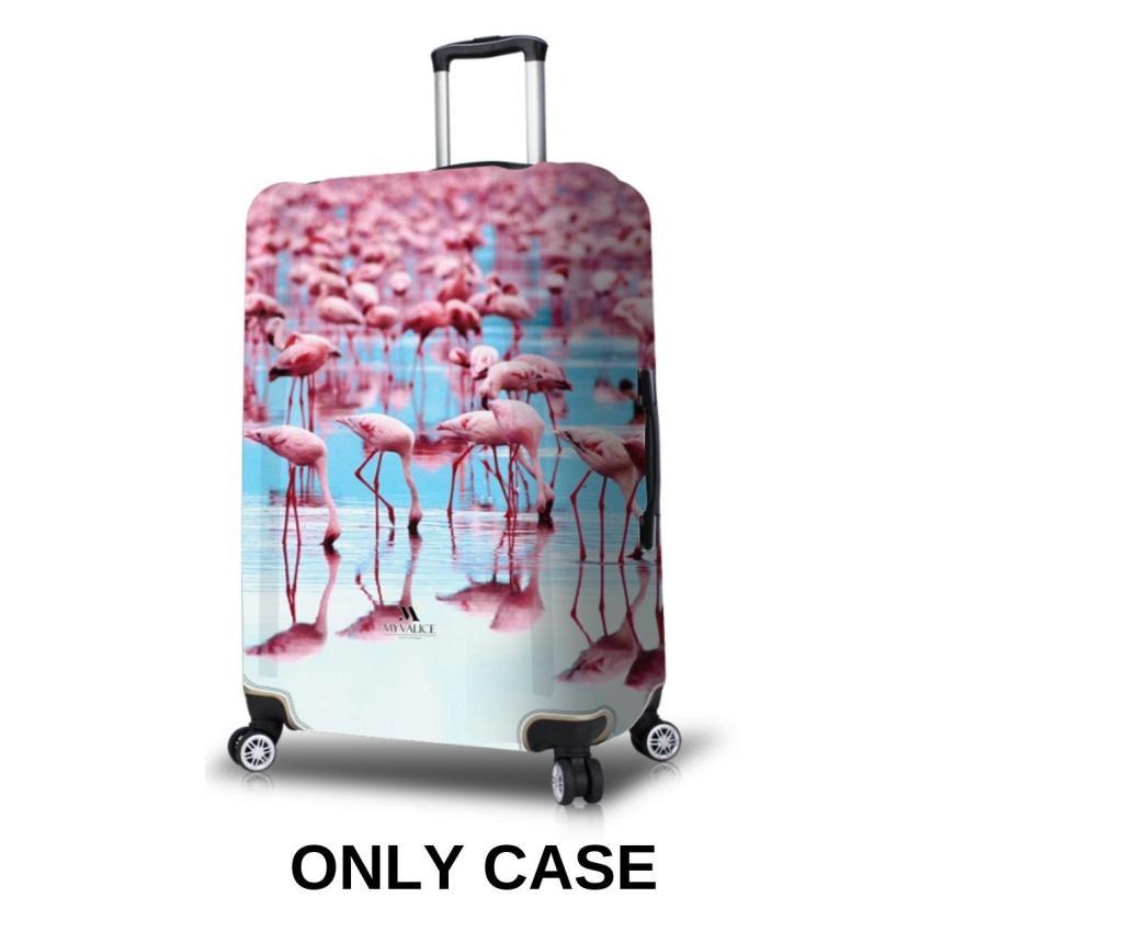 Husa pentru valiza Flamingo L - MyValice, Multicolor