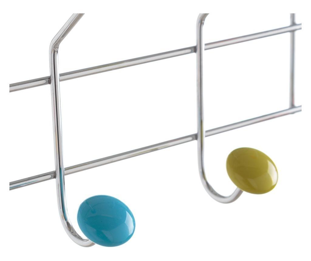 Vješalica za vrata Spot Multicolour