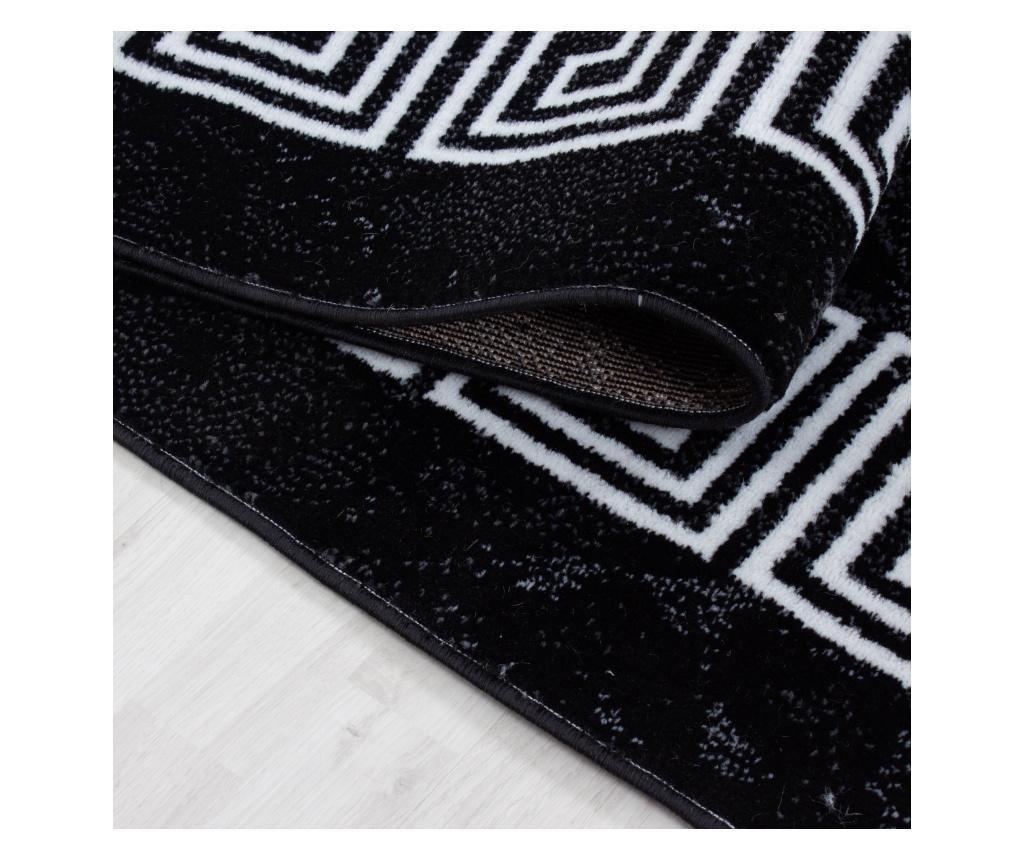 Tepih Plus Black 200x290 cm