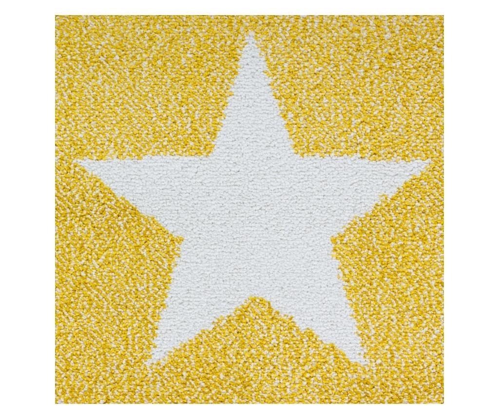 Kids Yellow Szőnyeg 80x150 cm