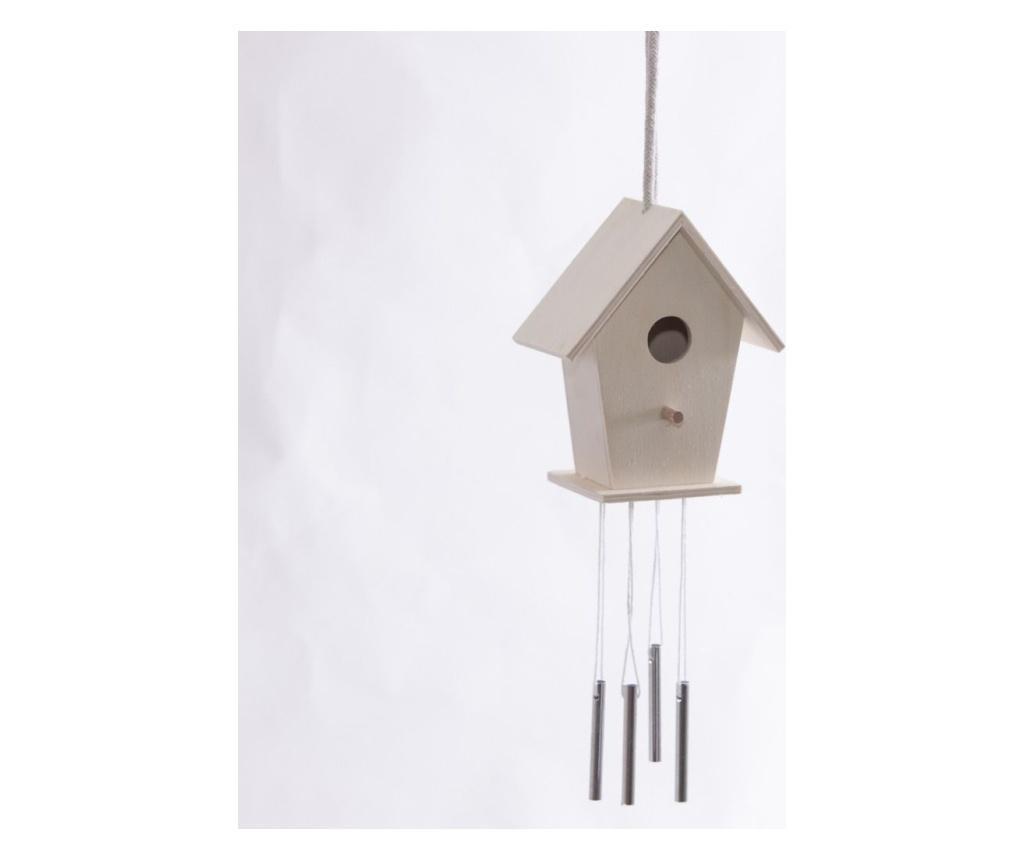 Casuta pentru pasari cu clopotei de vant DIY Vento