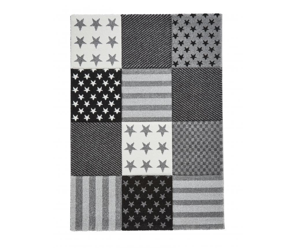 Covor Brooklyn Kids 60x120 cm - Think Rugs, Gri & Argintiu