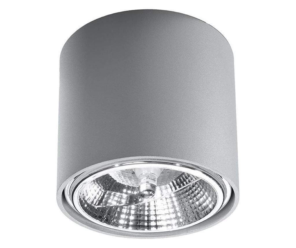 Spot Luigi Grey - Nice Lamps, Gri & Argintiu