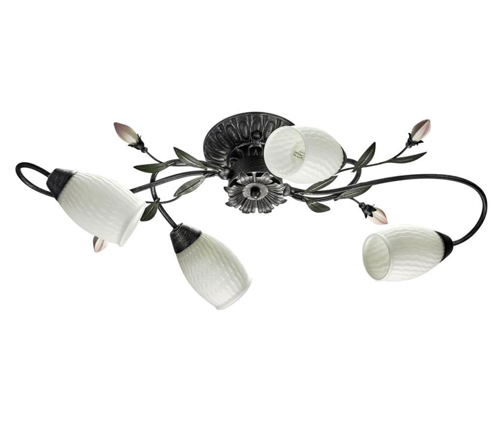 Lustra Verona Black - Classic Lighting, Alb,Negru