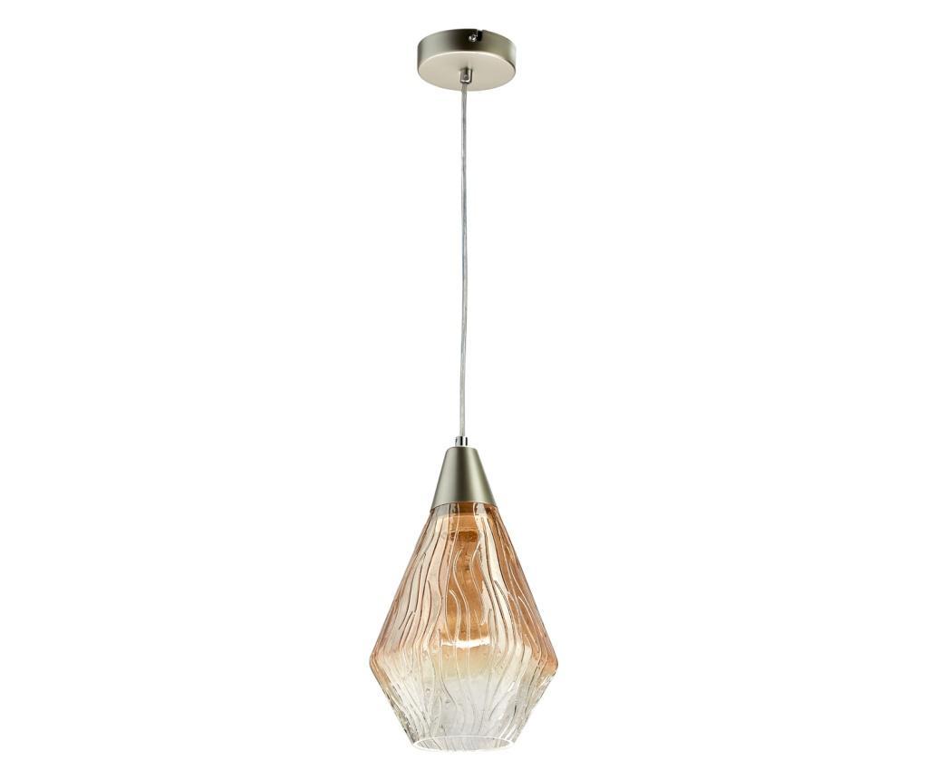 Lustra Chianti Silver Brown - Classic Lighting, Gri & Argintiu,Maro