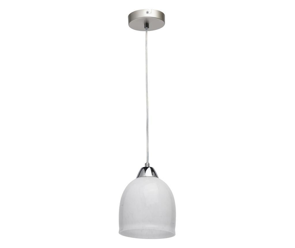 Lustra Claire - Classic Lighting, Alb,Gri & Argintiu