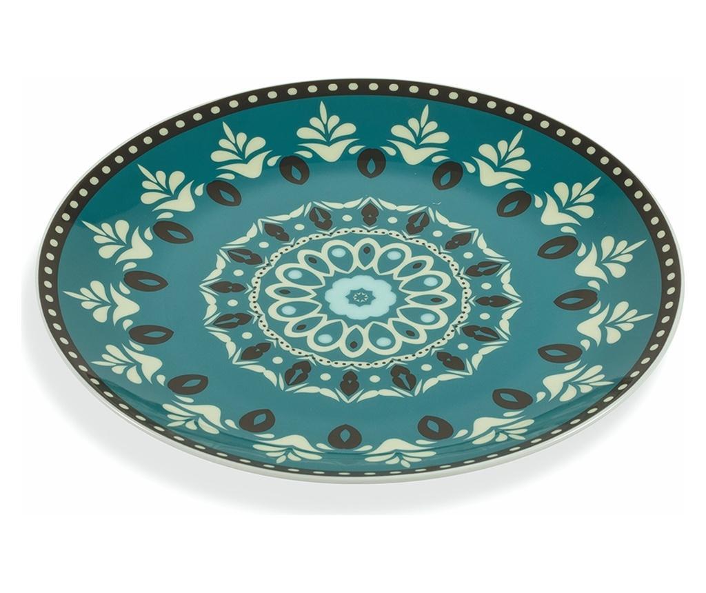 Set 6 Farfurii Pentru Desert Cala Jondal - Villa D'este Home Tivoli, Multicolor