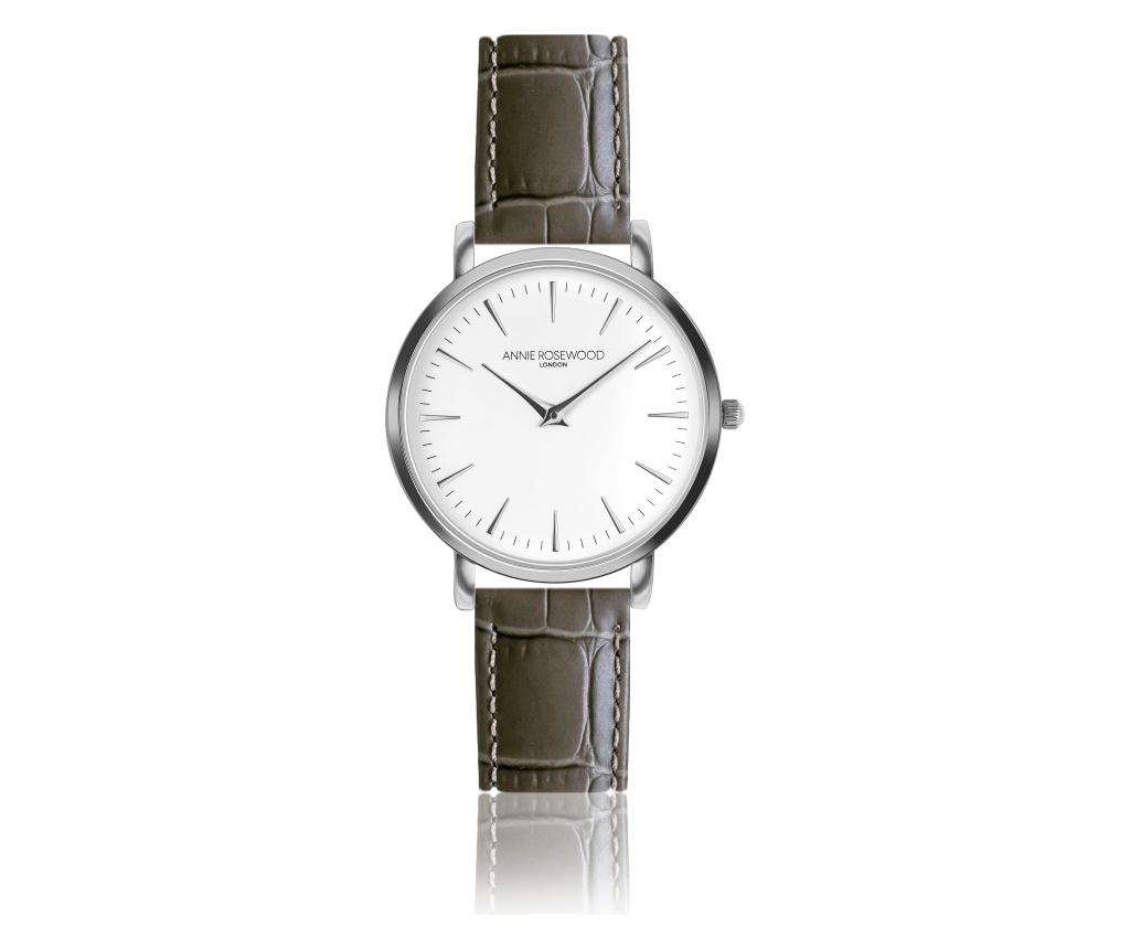 Ceas de mana dama Primrose Classic - Annie Rosewood, Gri & Argintiu,Maro