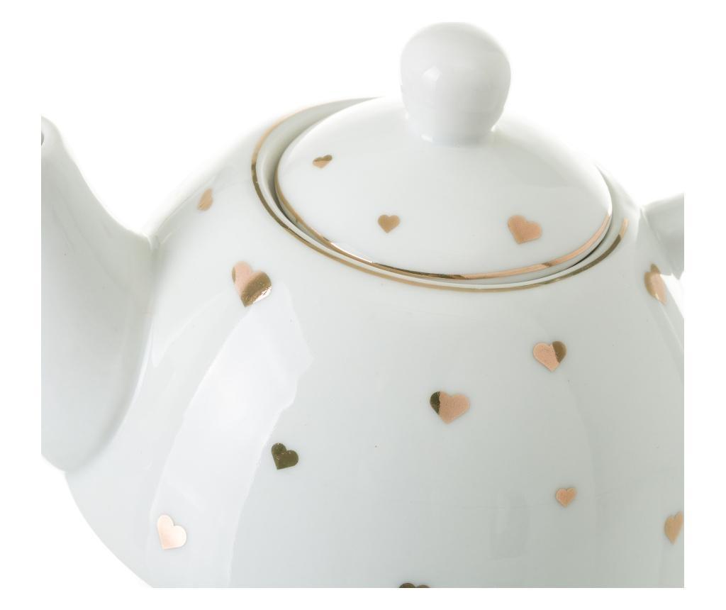 Goldy Teáskanna csészével és kistányérral