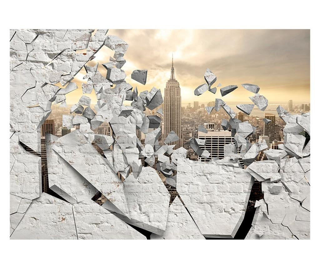 NY - City behind the Wall Tapéta 280x400 cm