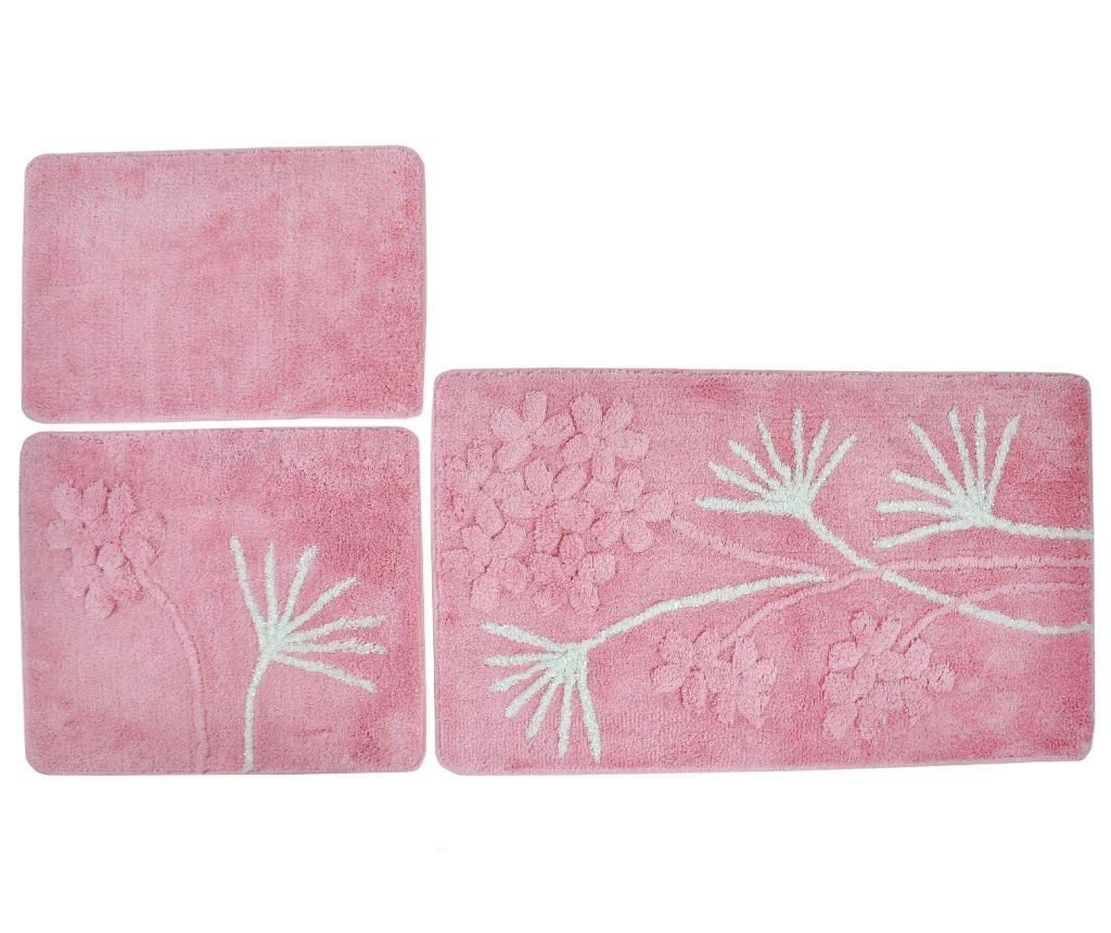 Prya 3 db Fürdőszobai szőnyeg