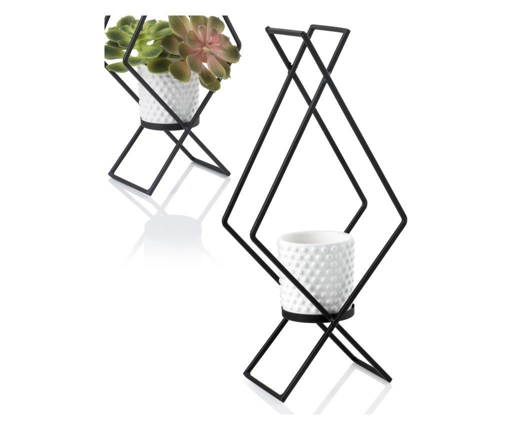 Cvetlični lonec s stojalom Rombo