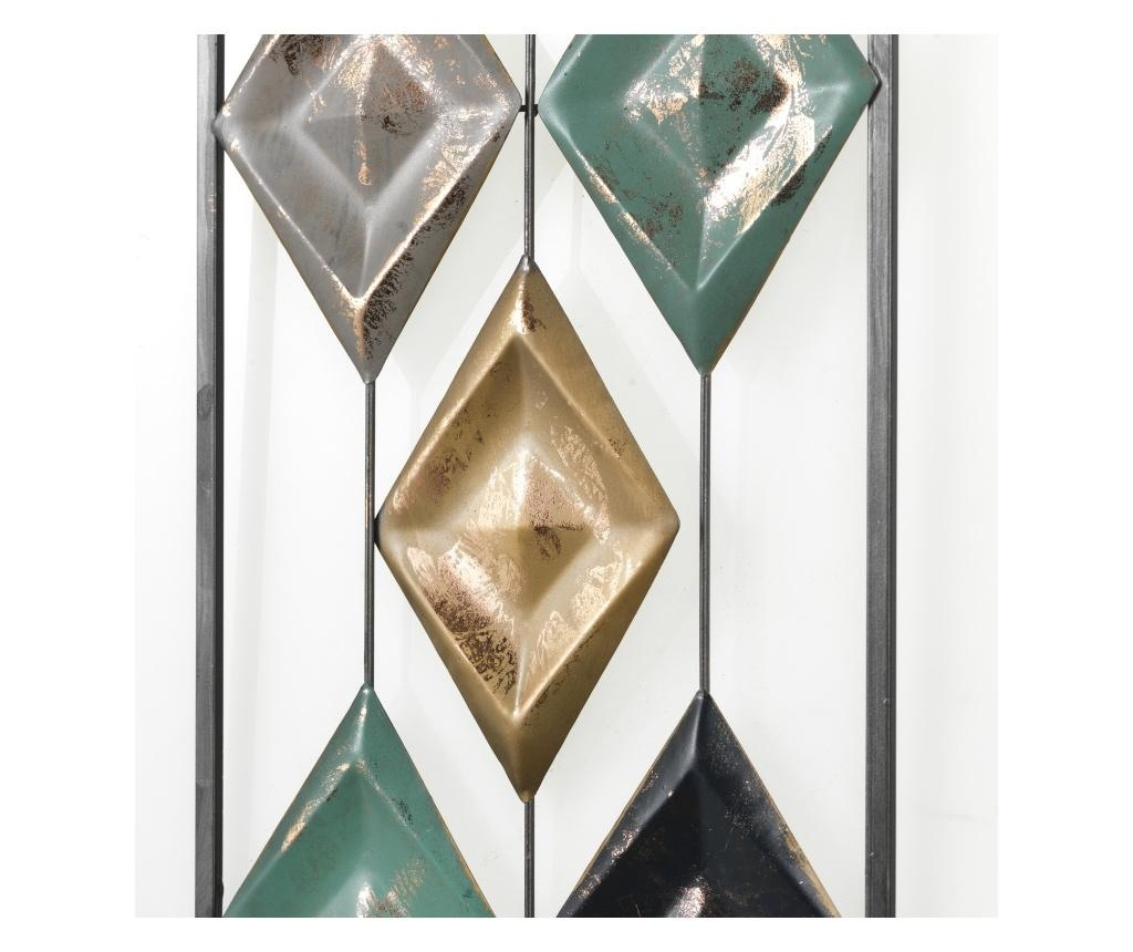 Rhombus Rain Fali dekoráció