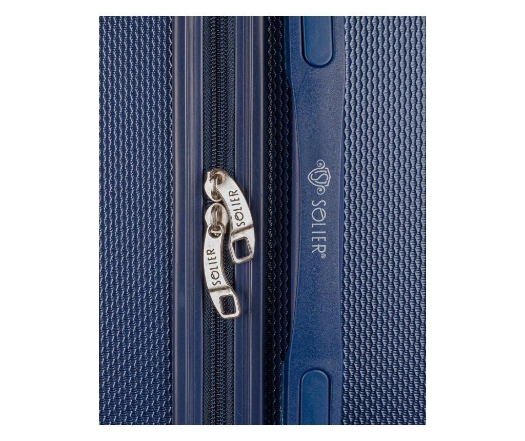 Gurulós bőrönd L