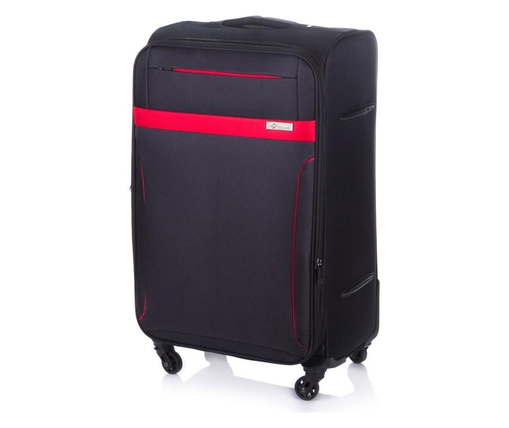 Gurulós bőrönd XL