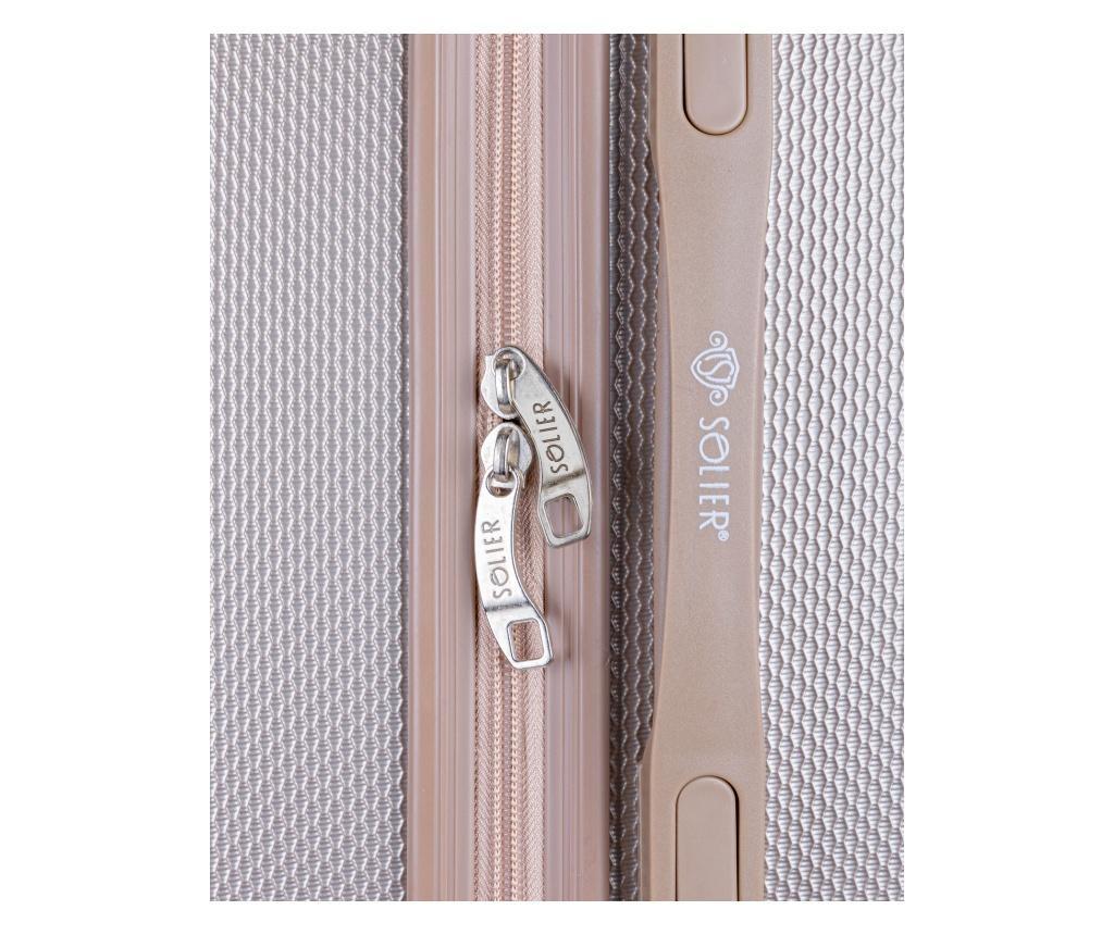 Gurulós bőrönd M
