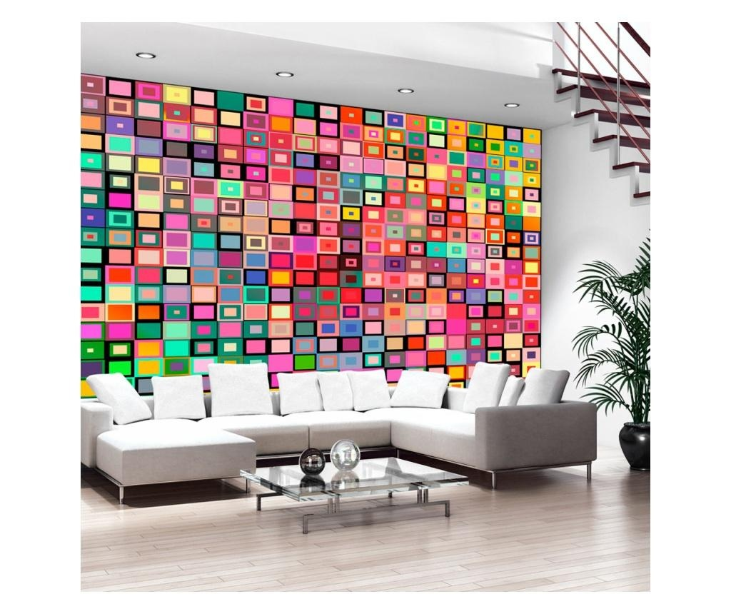 Tapet Colourful Boxes 245x350 cm