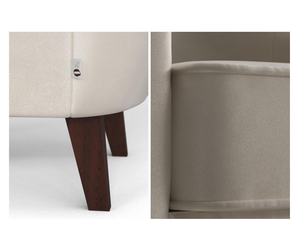 Brochant Uni Cream Fotel