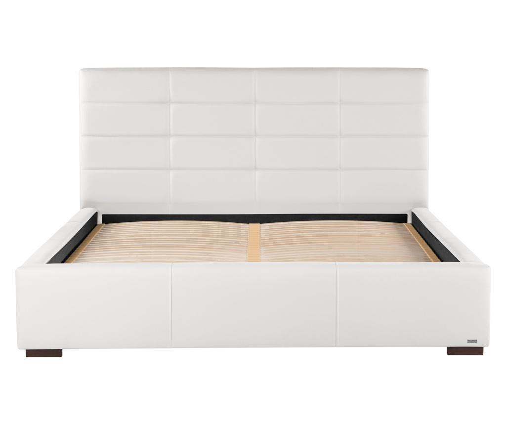 Krevet s prostorom za odlaganje Lazulis White 160x200 cm