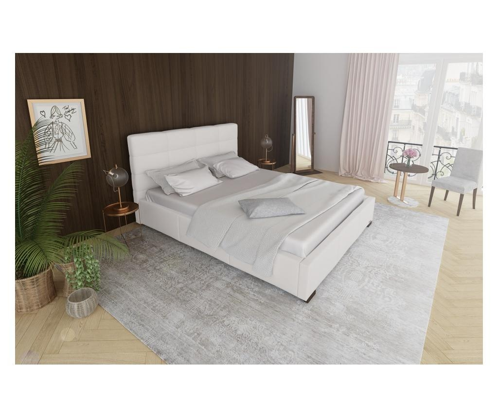 Krevet s prostorom za odlaganje Lazulis White 180x200 cm