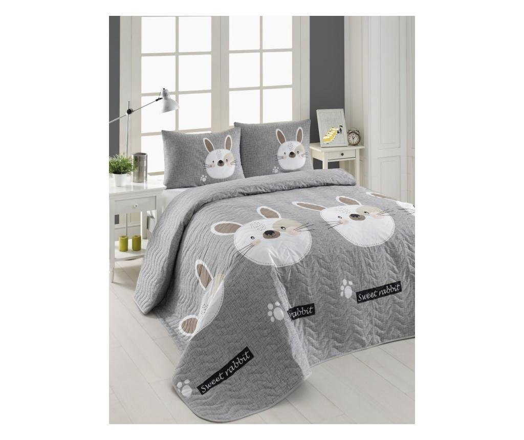Set cuvertura matlasata Double Tavşancık - Eponj Home, Multicolor