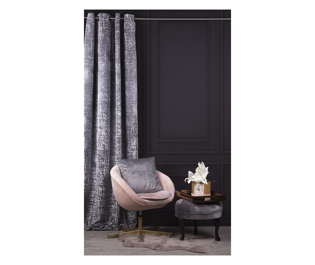 Draperie Chic Grey 140x270 cm - Chic Home, Gri & Argintiu