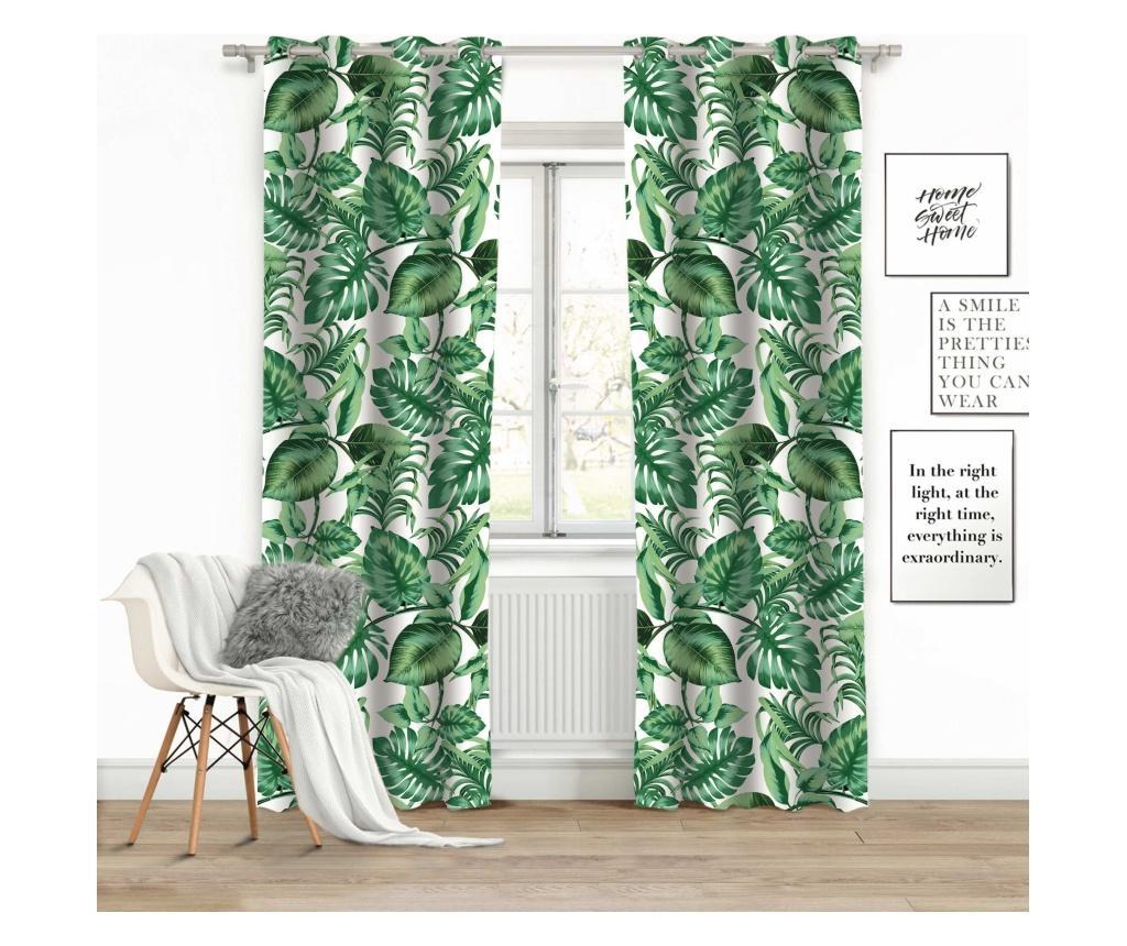 Draperie Palms 140x250 cm - Chic Home, Verde