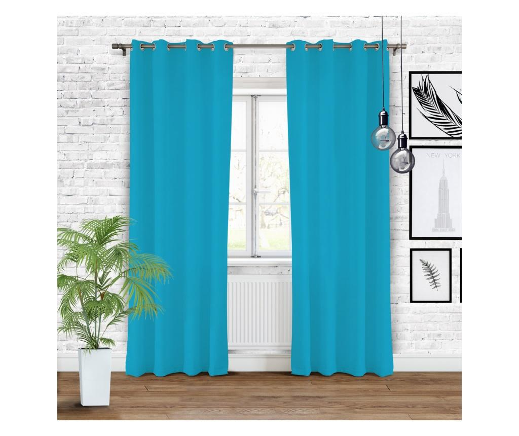 Draperie Hold Blue 140x250 cm - Chic Home, Albastru