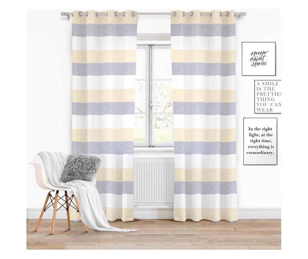 Draperie Tric Yellow 140x250 cm - Chic Home, Galben & Auriu