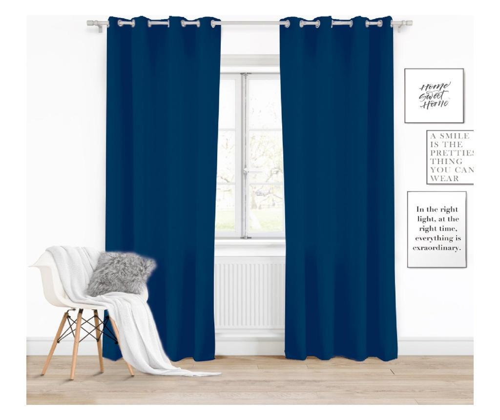 Draperie Viva Blue 140x250 cm - Chic Home, Albastru