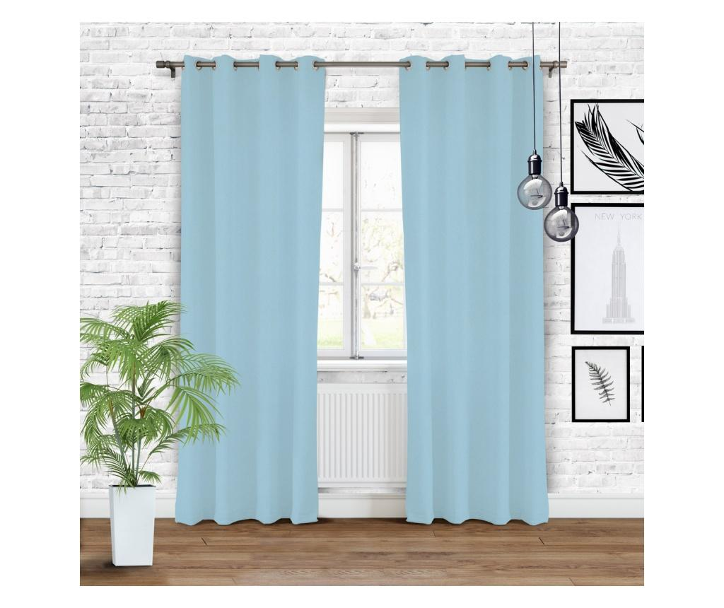 Draperie Hold Light Blue 140x250 cm - Chic Home, Albastru