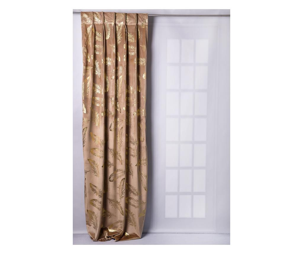 Draperie Glam Chic Gold 140x270 cm - Chic Home, Crem