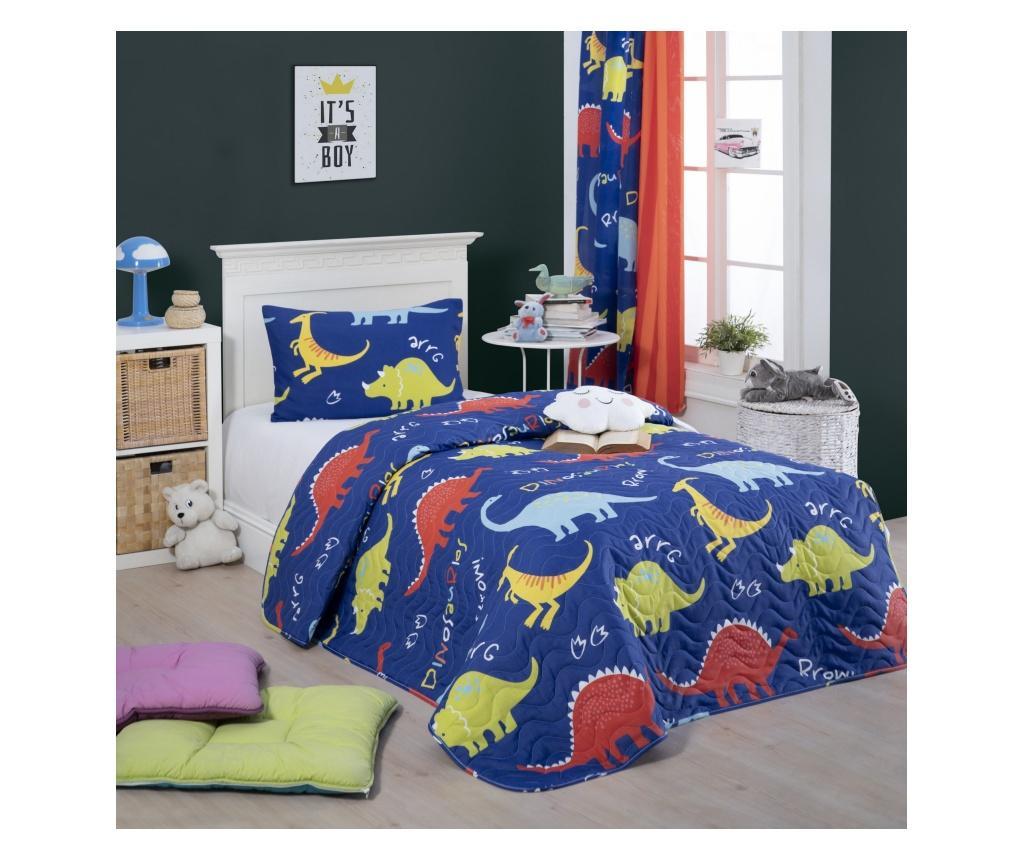 Set cuvertura matlasata Single Dinazorus - Eponj Home, Multicolor
