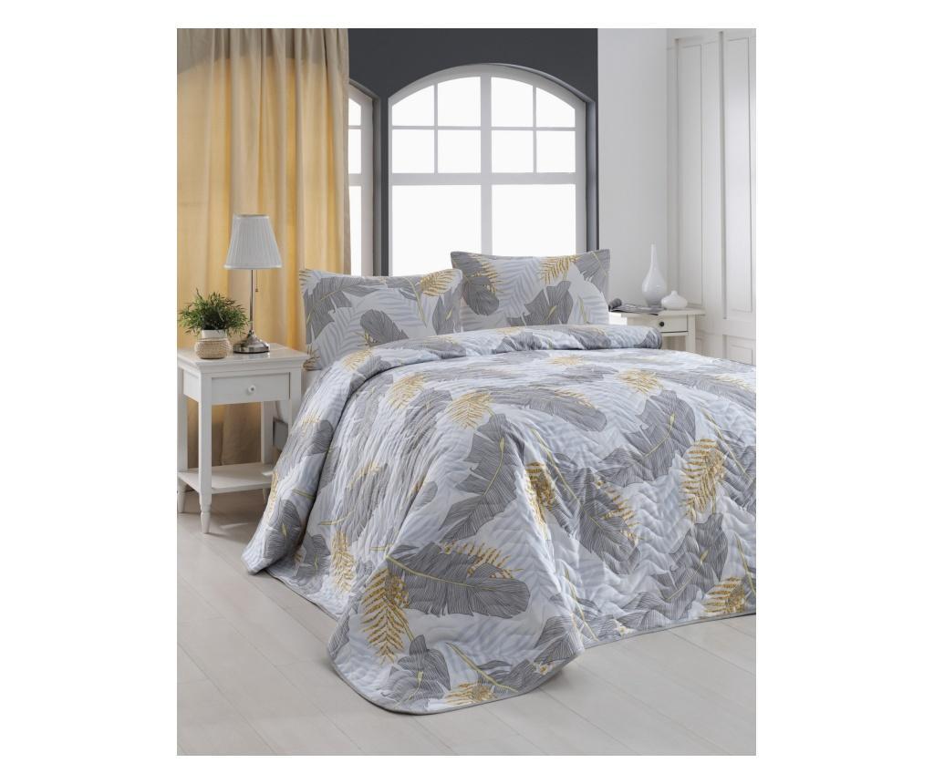 Set cuvertura matlasata Double Altın - Eponj Home, Multicolor