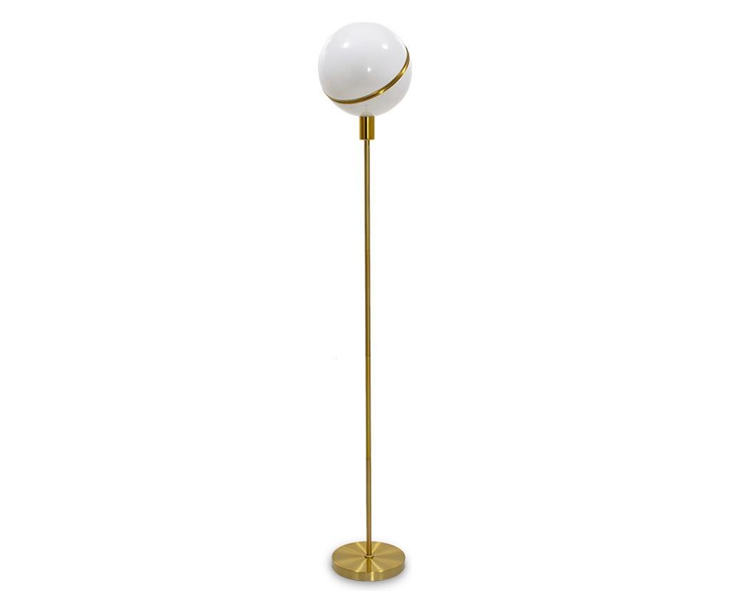 Lampadar Arabella Alb And Yellow Gold Alb