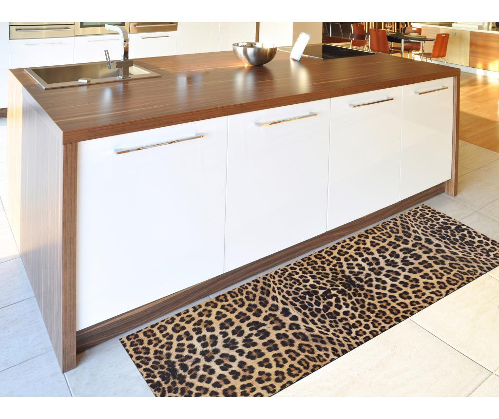 Covor Ricci Leopardo 52x100 cm - Universal XXI, Multicolor