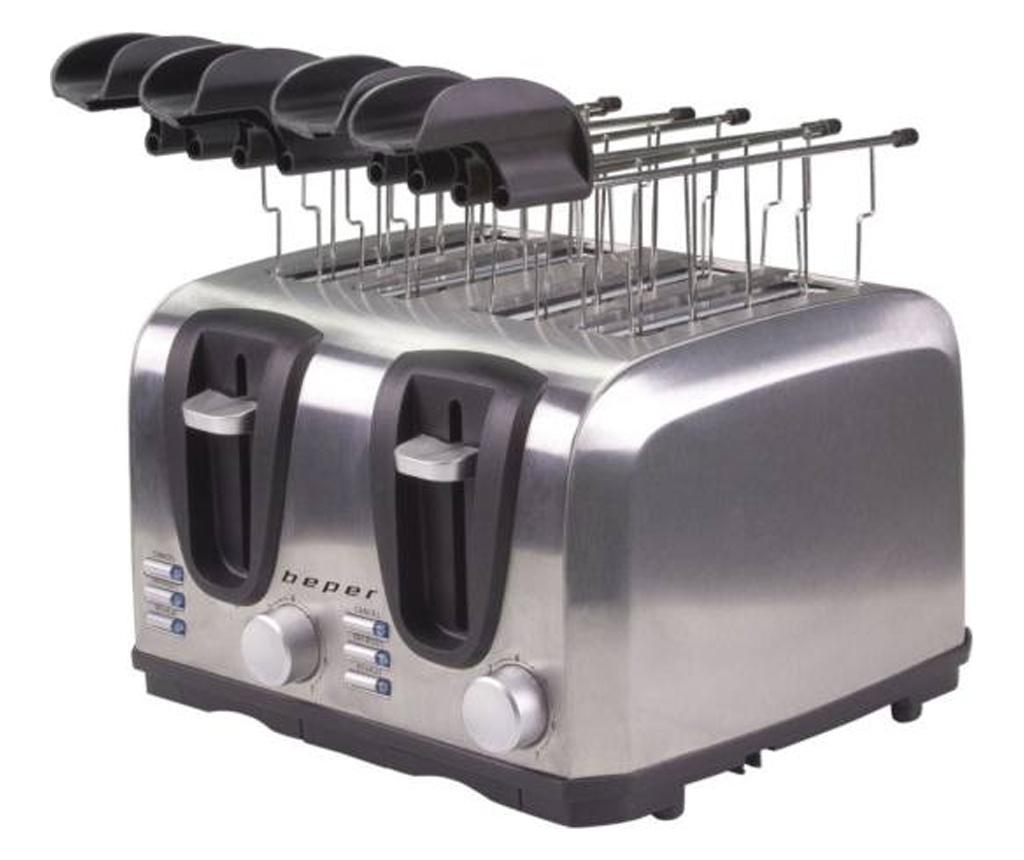 Prajitor de paine - Beper, Gri & Argintiu imagine 2021