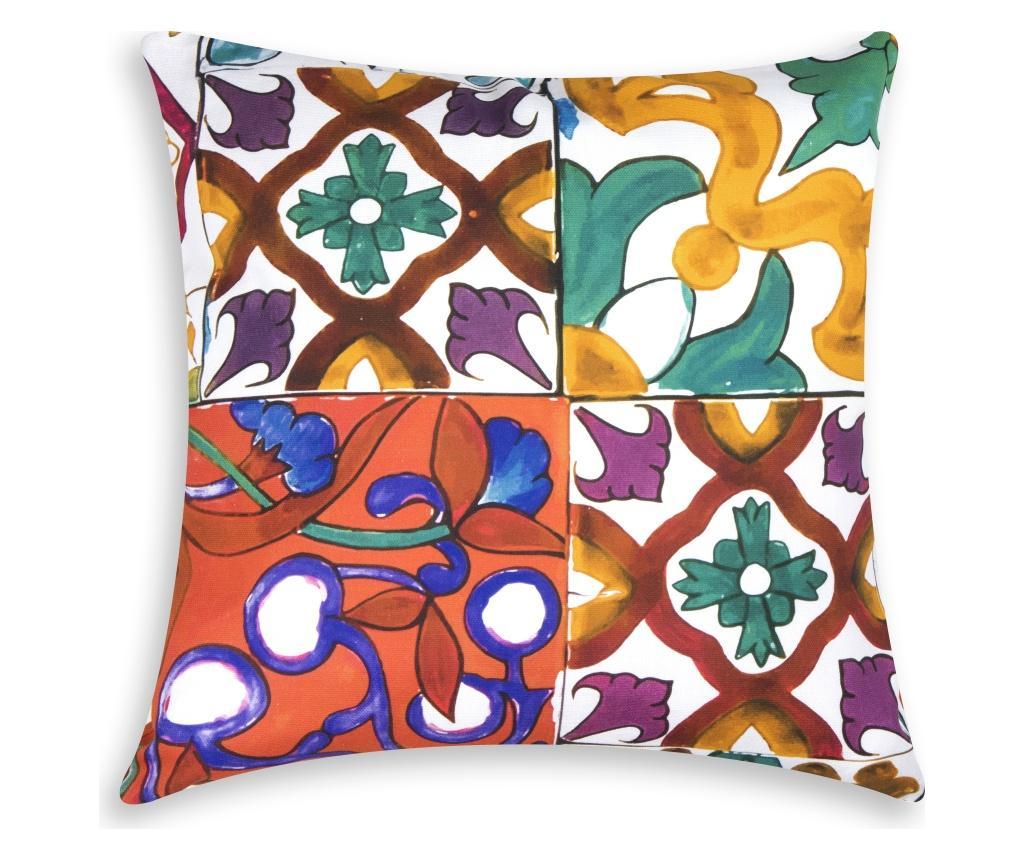 Perna decorativa Lisbona 45x45 cm - Excelsa, Multicolor