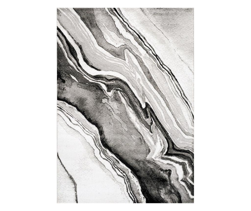 Covor Manhattan Empire Grey 80x150 cm - Floorita, Gri & Argintiu