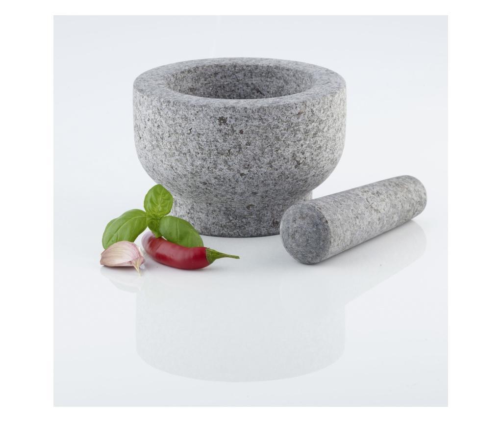 Mojar cu pistil - Axentia, Gri & Argintiu