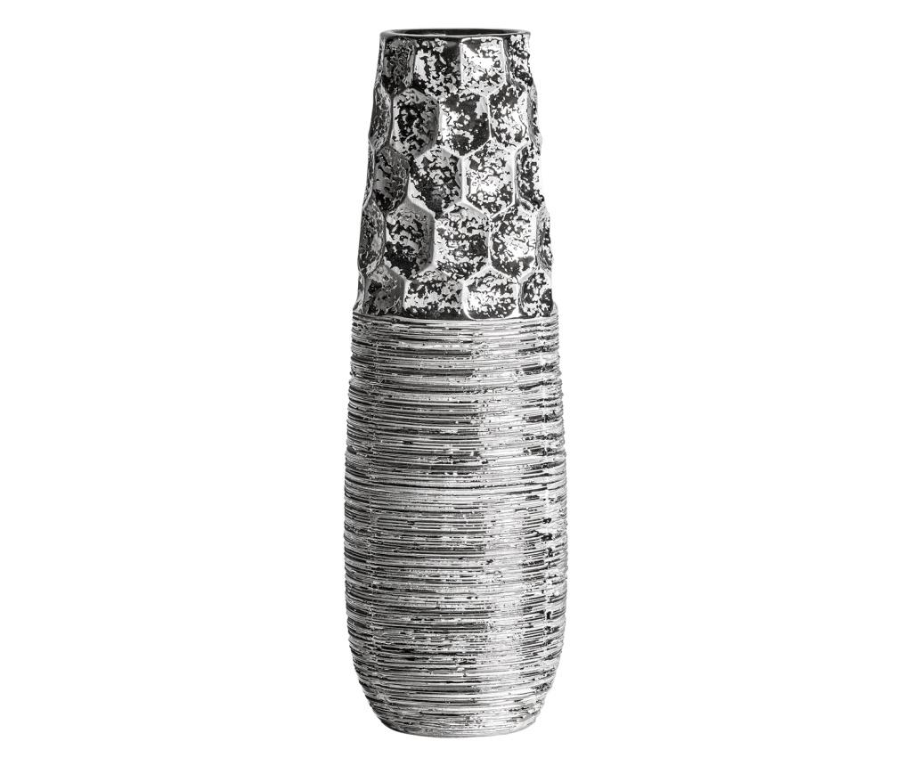 Vaza Stucco Silver - Burkina, Gri & Argintiu