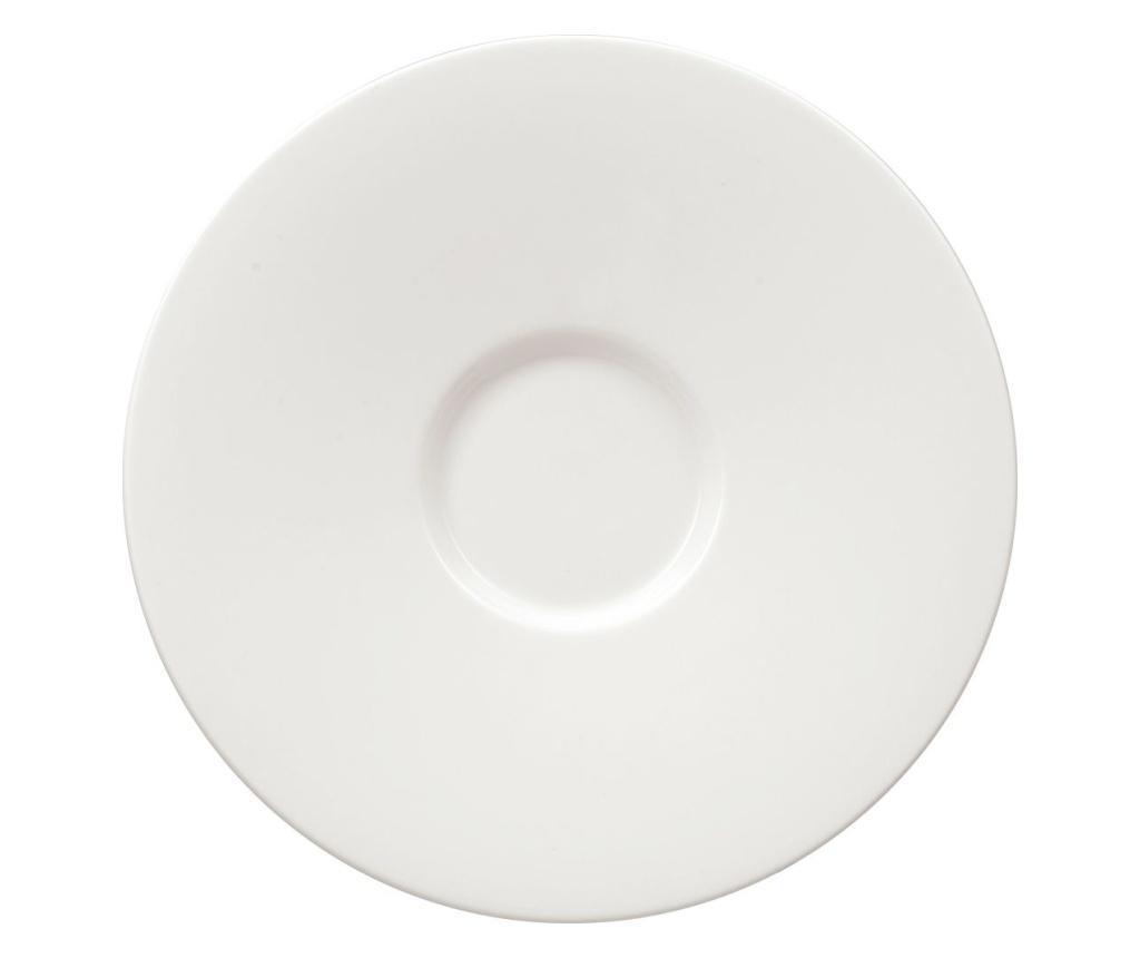 Set 4 farfurioare Club White 17 cm - Villeroy & Boch