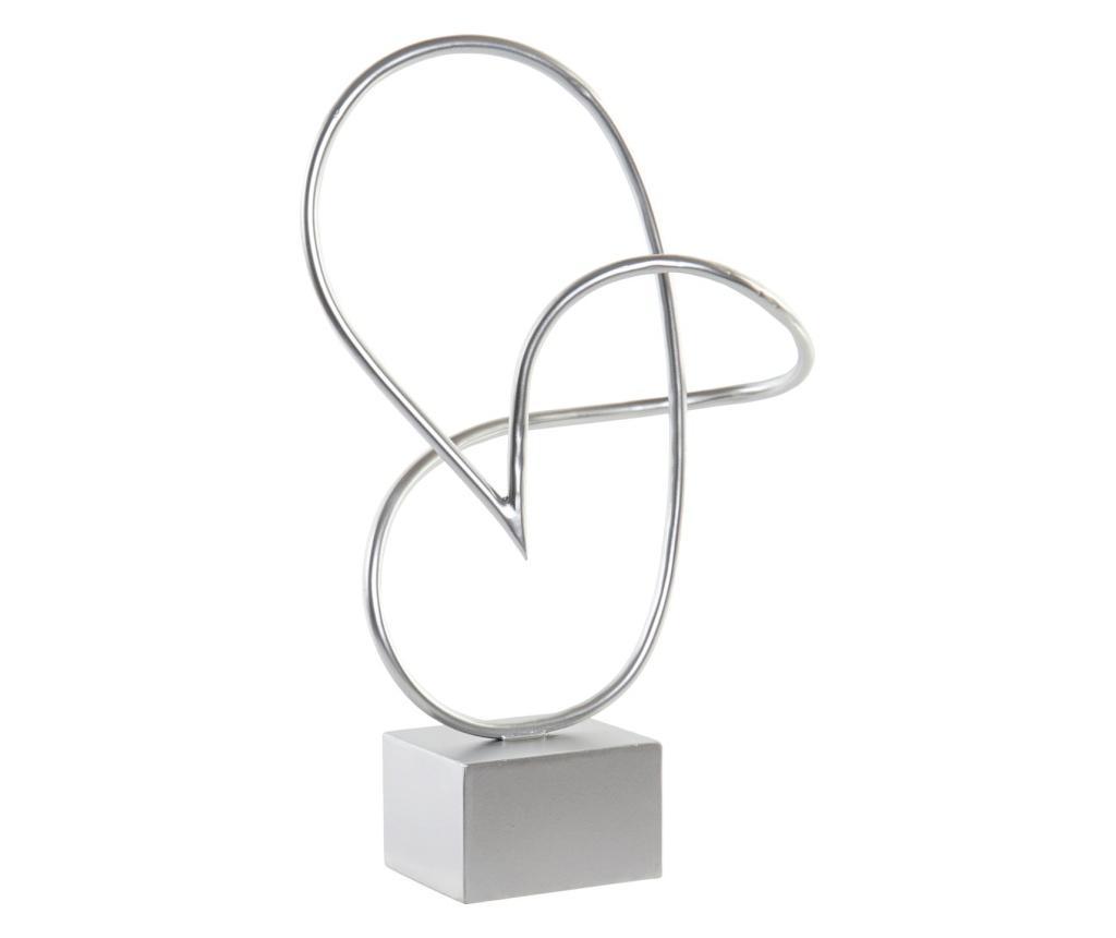 Decoratiune - Item International, Gri & Argintiu