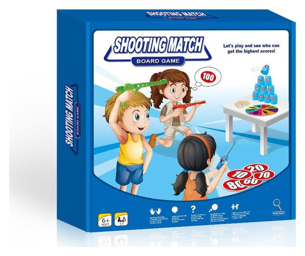 Joc Shooting Match - Juguetes BP, Multicolor