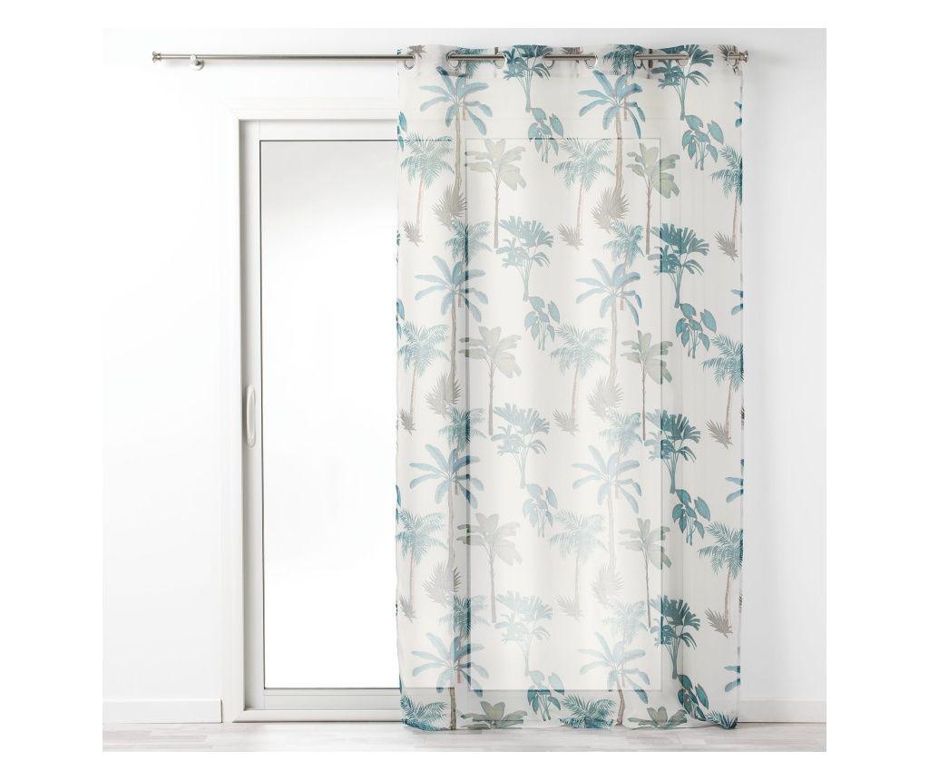Perdea Voile Banany 140x240 cm - douceur d'intérieur, Multicolor