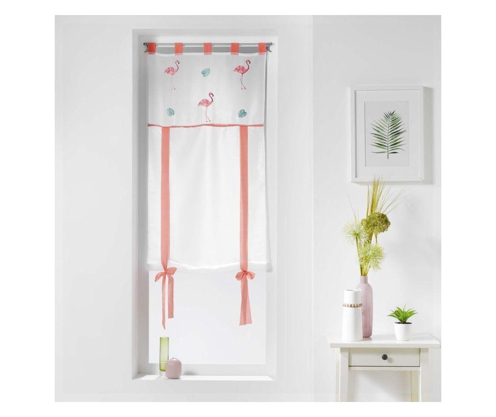 Perdea Flamingo 60x150 cm - douceur d'intérieur, Alb