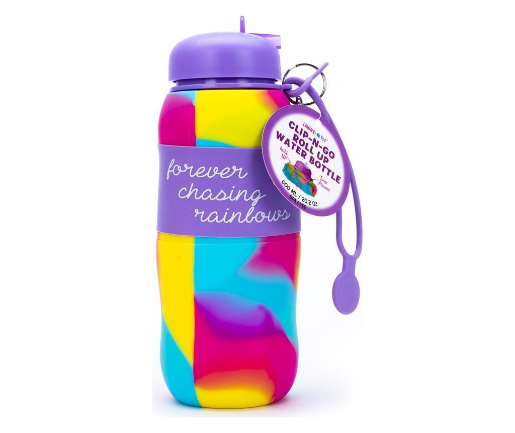 Sticla pliabila TU - TCD Made For Kids, Multicolor