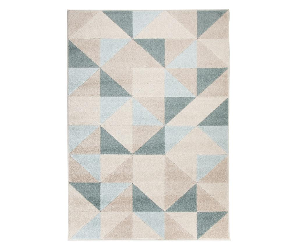 Covor Urban Triangle 100x150 cm - Flair Rugs, Albastru