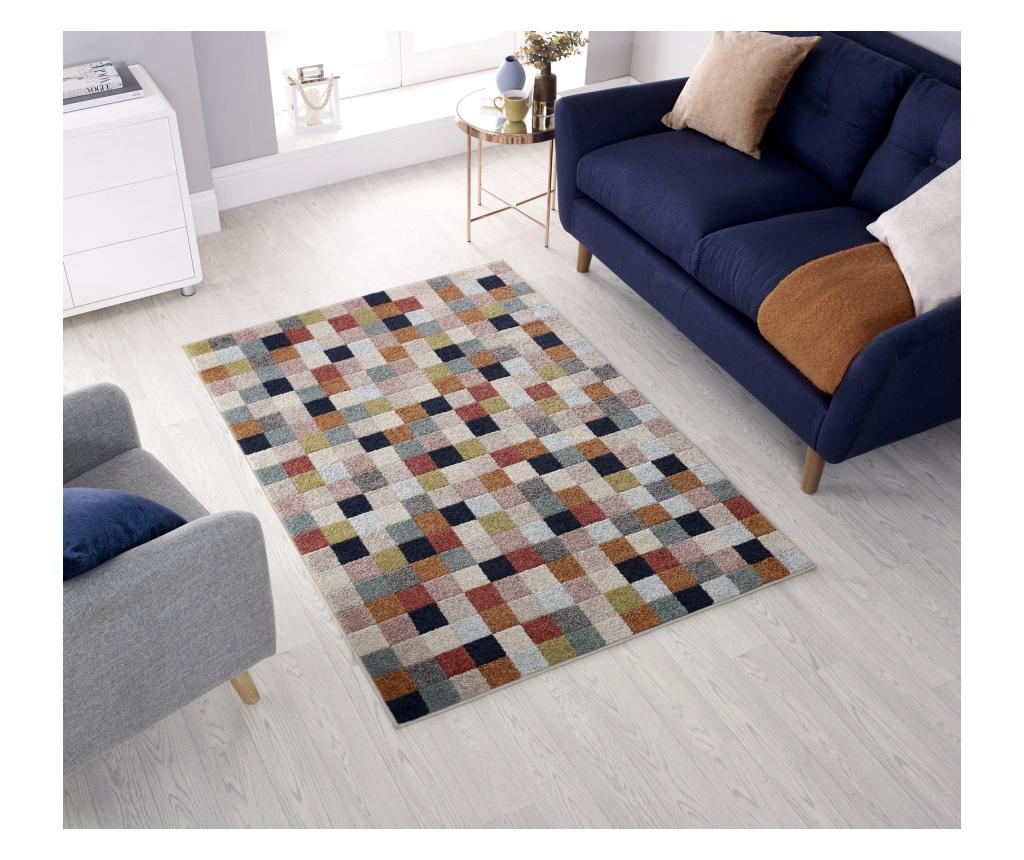 Covor Urban Squares 133x185 cm - Flair Rugs, Multicolor